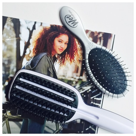 wet brush and tangle teezer