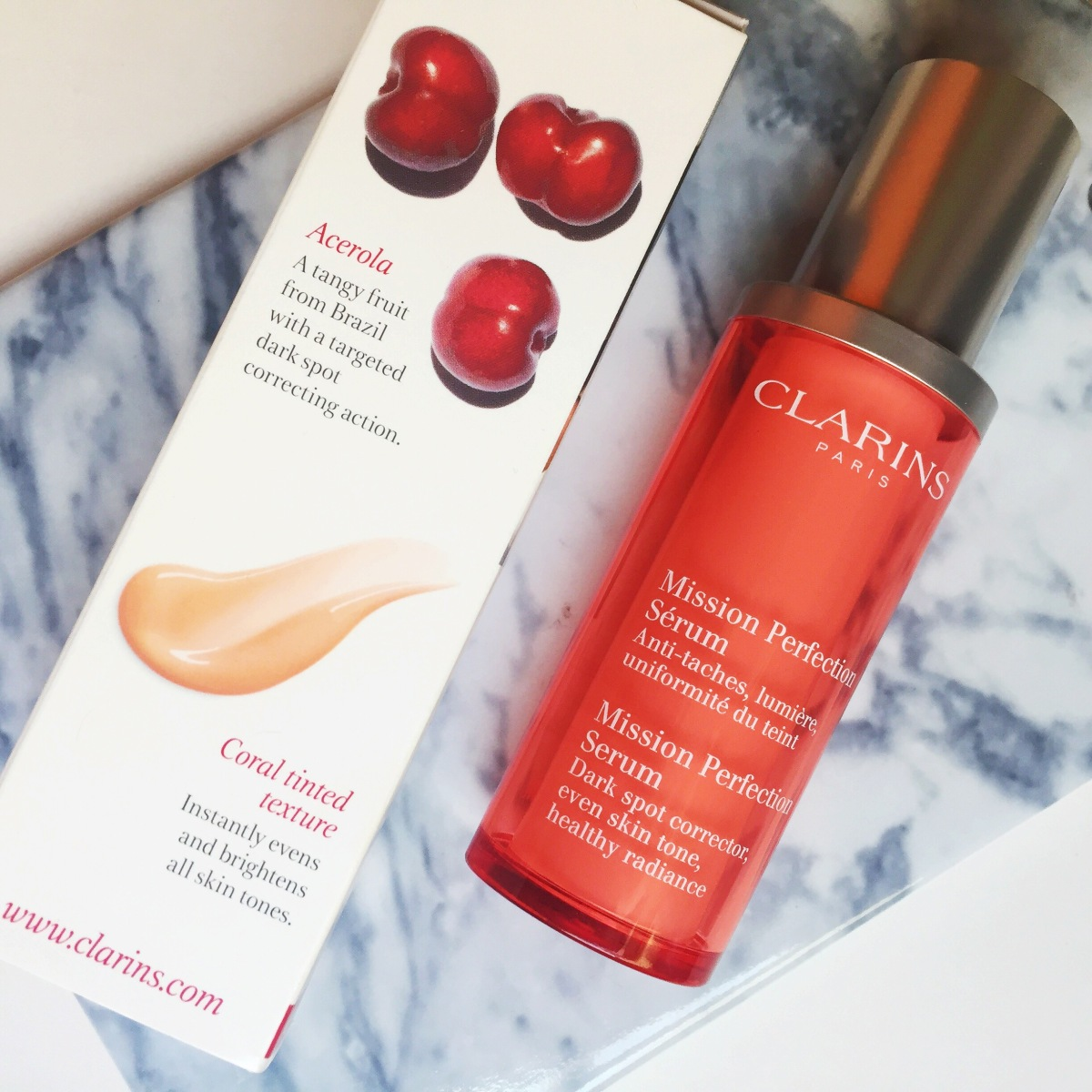Review: Clarins Mission Perfection Serum