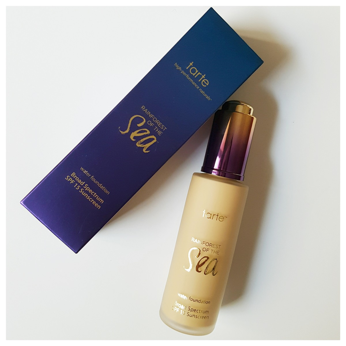 Review: Tarte Rainforest of the Sea Foundation